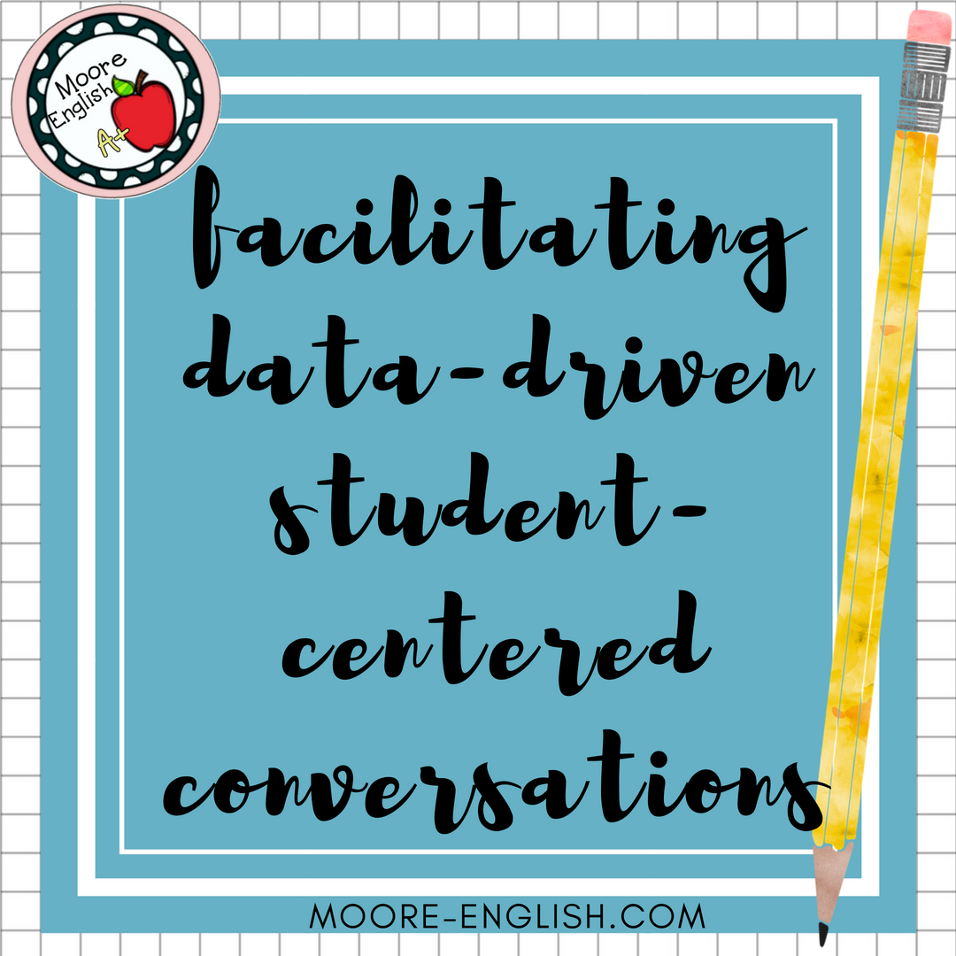 Data-drive, student-centered conversations more-english.com #moore-engish