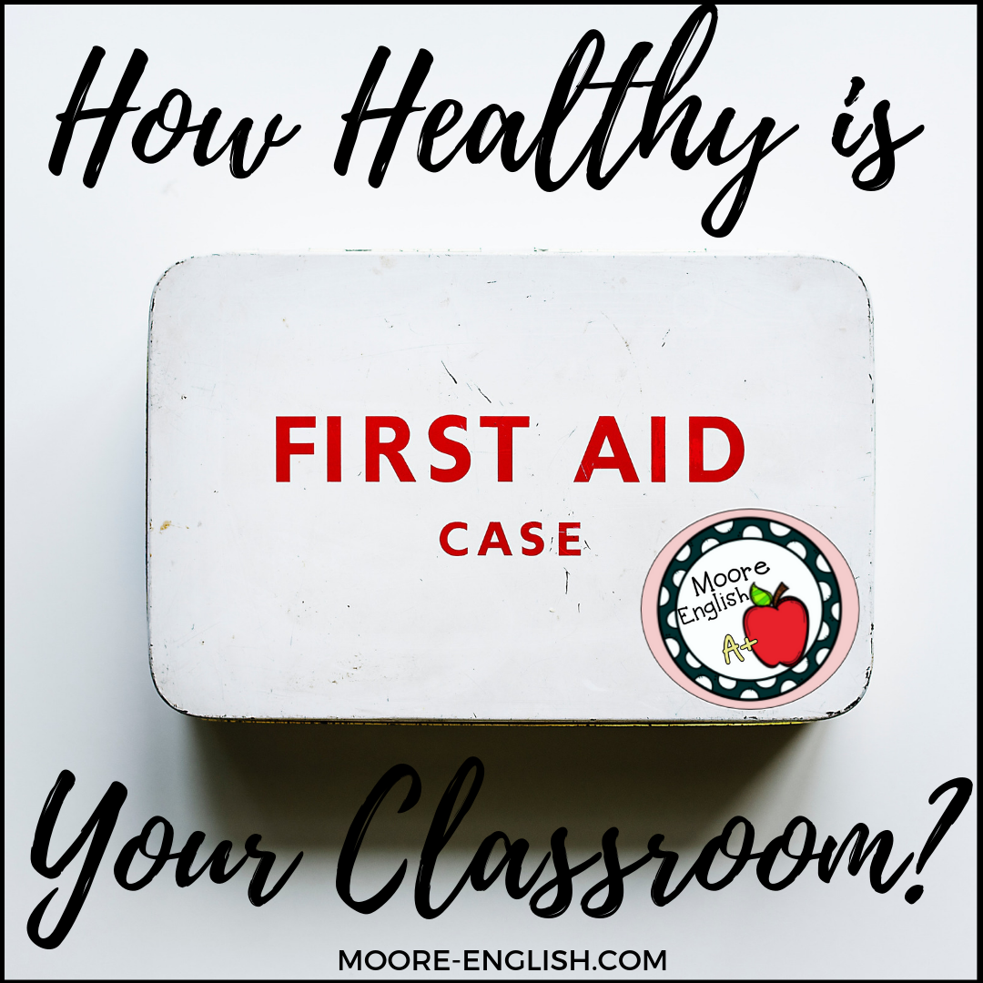 Classroom Hygiene and Health #moore-english @moore-english.com