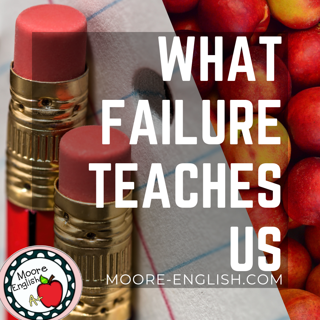 LEARNING FROM MISTAKES IN EDUCATION #moore-english.com #mooreenglish moore-english.com
